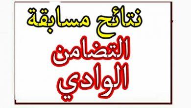 Photo of نتائج مسابقة التضامن لولاية الوادي استاذ تعليم متخصص