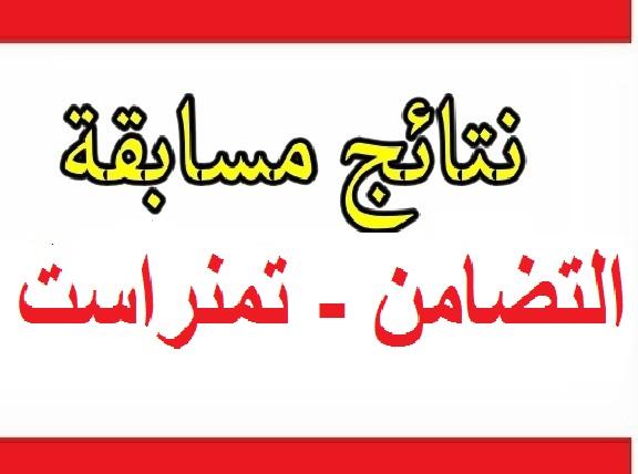 Photo of نتائج مسابقة التضامن ولاية تمنراست