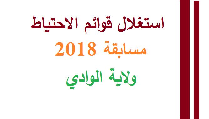 Photo of استدعاء احتياط ولاية واد سوف