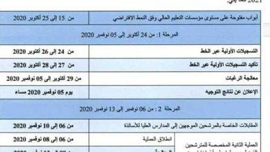 Photo of رزنامة التسجيلات الجامعة لطلبة البكالوريا
