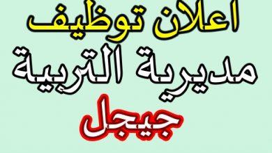 Photo of اعلان توظيف مديرية التربية لولاية جيجل