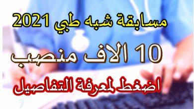 Photo of التسجيل في الشبه الطبي